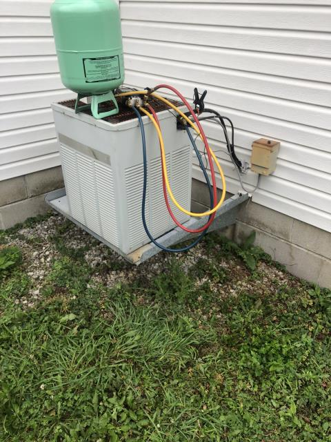Reynoldsburg, OH - Replaced Ignitor & Added Freon To Trane AC System To Keep AC Running To Highest Performance For The Summer Season