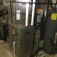 Reynoldsburg, OH - Air balance performed on residential heating and cooling system. At customer request provided an estimate to install a mini-split.