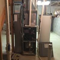 Pataskala, OH - Blower wheel replaced on Tempstar gas furnace.