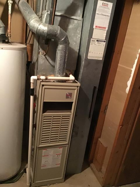 Obetz, OH - Inducer motor replaced on a Carrier Gas Furnace. System heating properly at this time.