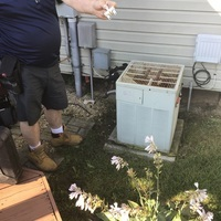 Pickerington, OH - Diagnosis of 1992 Trane Air Conditioning System issues. Repairing vs replacement options given to customer.