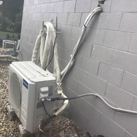 New Albany, OH - MRCOOL Mini-Split system recharged with 3 lbs of R-410A Puron.