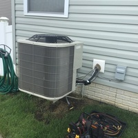 Commercial Point, OH - Performed our Special Summer Season A/C Tune-up and Safety Check on a Bryant system.