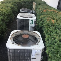 Dublin, OH - Commercial Diagnostic Services provided and found extensive issues with central air units. Repair options vs replacement given to customer and quotes provided.