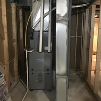 Commercial Point, OH - Under warranty evaporator coil replaced on a Comfortmaker Air Conditioning System. Replaced the filter drier and added 1 lb of R-410A Puron.