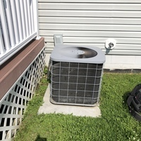 Reynoldsburg, OH - 2004 Air Conditioning System found to have a bad capacitor. Replaced the capacitor and cycled system on to cooling.