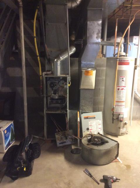 Groveport, OH - Furnace Tune Up on 1999 Bryant Unit.