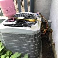 Hilliard, OH - Upon inspection, found a bad capacitor and disconnect on a 2007 Carrier A/C System. Dual Capacitor and Disconnect 60 Amp replaced. The system is cooling properly at this time.