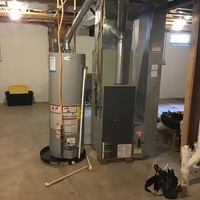Galloway, OH - Semi-annual furnace tune-up and safety inspection performed on a Trane system.