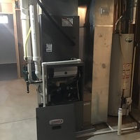 Hilliard, OH - After hours emergency diagnostic service performed on a Lennox furnace due to a gas leak. Leak search performed and confirmed the furnace is not leaking gas. Confirmed the system is properly heating at this time.
