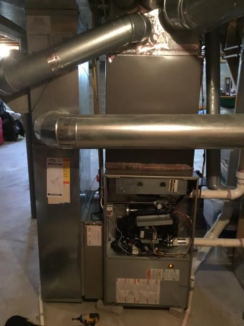 Blacklick, OH - Performed complete tuneup and safety inspection on a Bryant furnace to ensure efficient  operation for the winter season of 2019/2020.