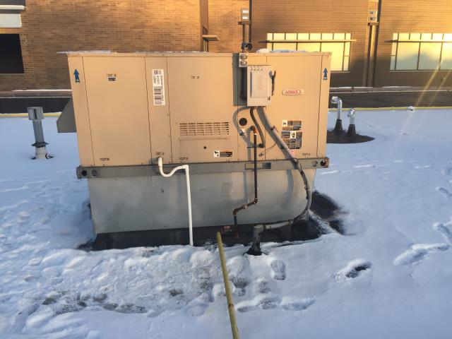 Bexley, OH - Performed complete tuneup and safety inspection on a Lennox package unit to ensure efficient operation for the winter season of 2019/2020.