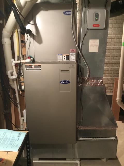Grove City, OH - Found faulty gas valve on Bryant furnace. It will need to be replaced for the furnace to operate.