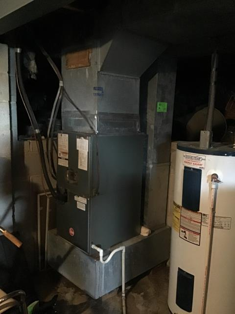 Galloway, OH - Diagnostic Performed Replaced Filter On Rheem Gas Furnace To Keep Furnace Running Efficiently For The Winter Season