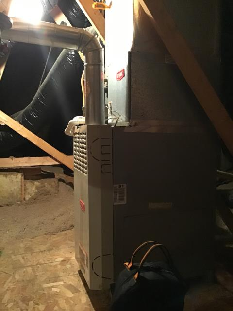 Reynoldsburg, OH - Routine furnace tune up and safety inspection on 2002 Bryant furnace.