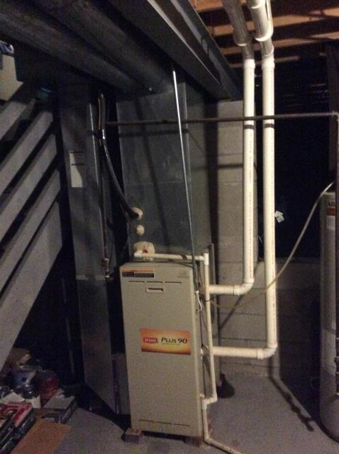 Blacklick, OH - Performed Our Special Tune-Up & Safety Checkout Bryant Gas Furnace To Keep Furnace Running At Highest Performance For The Winter Season