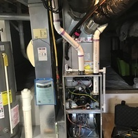 Reynoldsburg, OH - Inspected humidifier, needs new water line for filter, its dry rotted.