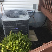 Canal Winchester, OH - Semi-annual air conditioner preventative maintenance and safety inspection performed on 2019 Carrier unit.