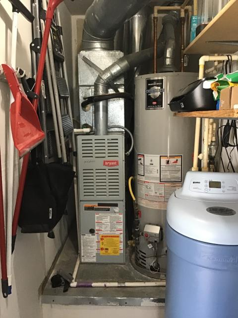 Grove City, OH - Free in house quote provided for a Carrier furnace and air conditioner to replace a Bryant system. Free estimate given for a ductless mini-split system located in the garage.