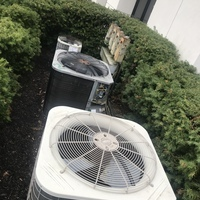 Dublin, OH - Free commercial estimates provided to repair or replace three Carrier air conditioning systems.