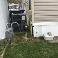 Grove City, OH - Free estimate provided to replace a Goodman A/C with a Carrier 13 SEER 2.5 Ton Air Conditioner.