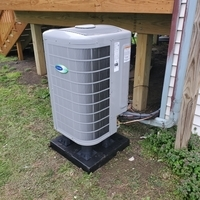 Grove City, OH - Ducane heat pump repair services. Provided free quote to install Carrier heat pump in place of old unit.