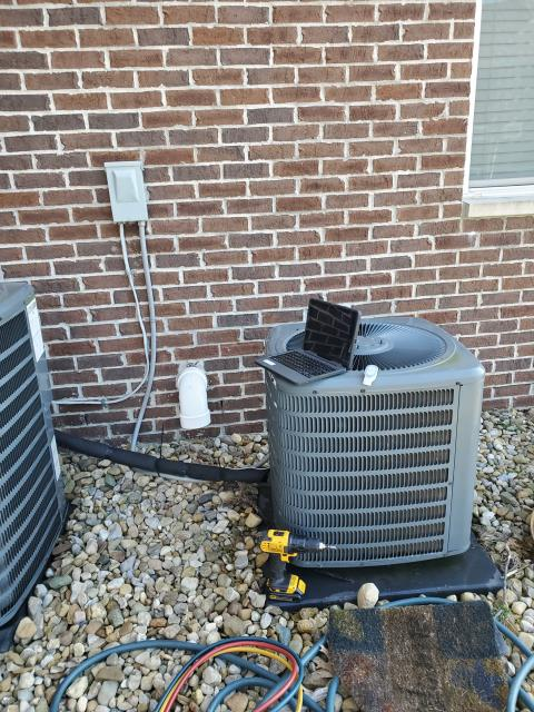 Hilliard, OH - 	Performed tuneup and safety check on 2015 Goodman AC. All is working well at this time.