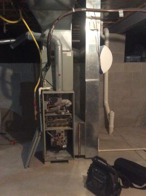 Pickerington, OH - Performed tuneup and safety check on 2001 Trane AC. All is working well at this time.