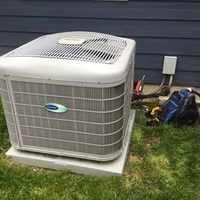 Bexley, OH - Tune Up & Safety Check on 2017 Carrier Air Conditioner