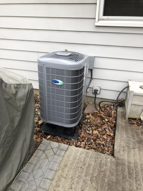 Westerville, OH - Found code 84 and code 99 both indicate on the 2019 Carrier system is overcharged. Charged unit through refrigerant charging