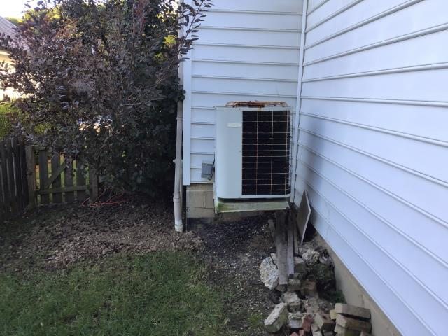 Powell, OH - Replaced compressor on Carrier AC. Added 5.5 pounds of R-410A. System cooling properly at this time.