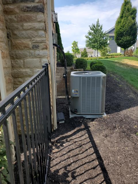 Dublin, OH - Performing our Five Star Tune-Up & Safety Check on a 2013 Lennox . All readings were within manufacturer's specifications, unit operating properly at this time.