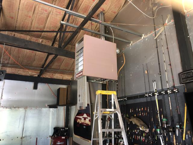 Reynoldsburg, OH - Upon arrival customer stated they can't get the Reznor heater in the garage to turn on. Found cardboard tag on thermostat not removed and not allow the Reznor to run. Removed cardboard tag, unit is running now.