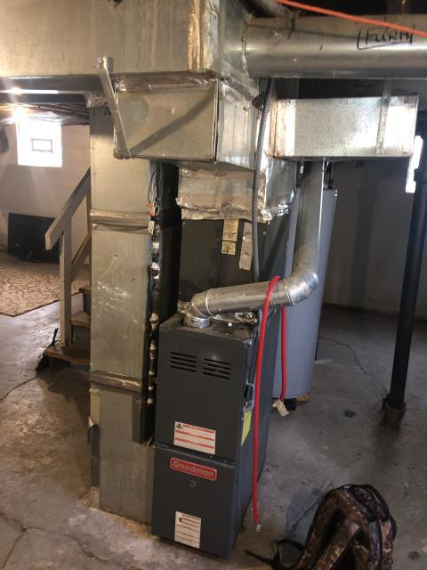 Columbus, OH - I provided an estimate for a new Carrier 96% 40,000 BTU Gas Furnace