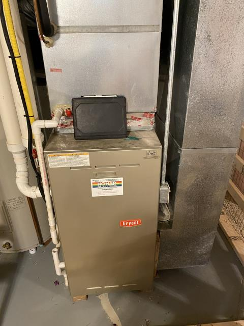 Blacklick, OH - Performing our Five Star Tune-Up & Safety Check on a 2005 Bryant. All readings were within manufacturer's specifications, unit operating properly at this time.