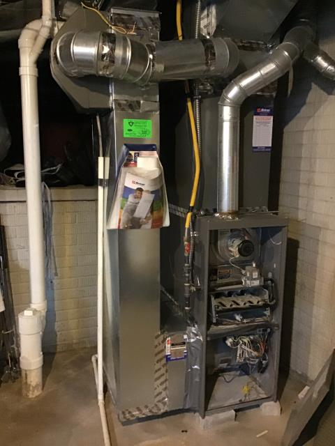 Grove City, OH - I provided an estimate for a new Carrier 96% 60,000 BTU Gas Furnace and a new Carrier 13 SEER 3 Ton Air Conditioner