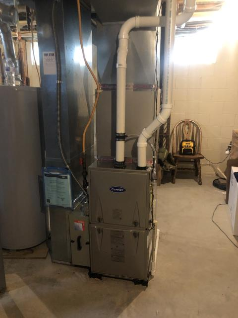 Blacklick, OH - I found no evidence that anything is wrong with the Carrier 96% 60,000 BTU Gas Furnace.