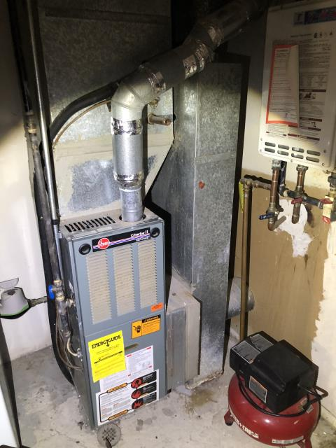 Hilliard, OH - I quoted a Carrier 80% 45,000 BTU Gas Furnace.
