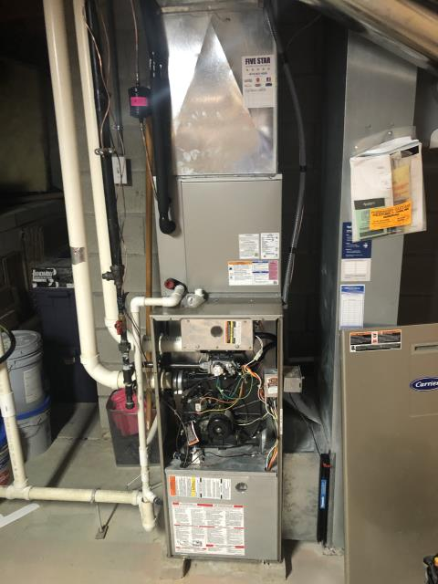 Blacklick, OH - I ran diagnostic found that Inducer motor needs replaced. Quoted client of replacement 90% OEM inducer motor.