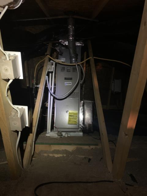 Blacklick, OH - I found the ignitor broken. I replaced with customer's approval. System is functioning properly.