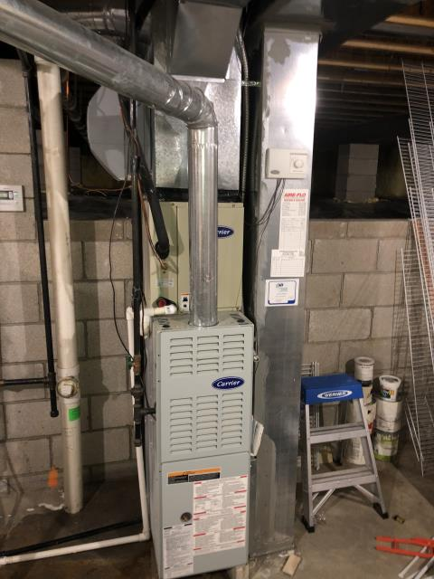 Pataskala, OH - I quoted the customer for different air quality systems and humidifiers.