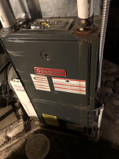 Columbus, OH - I removed a switch from circuit that wasn't getting power and the 2004 Goodman system is now working properly. I also gave the customer a quote for us to come back with a replacement switch.