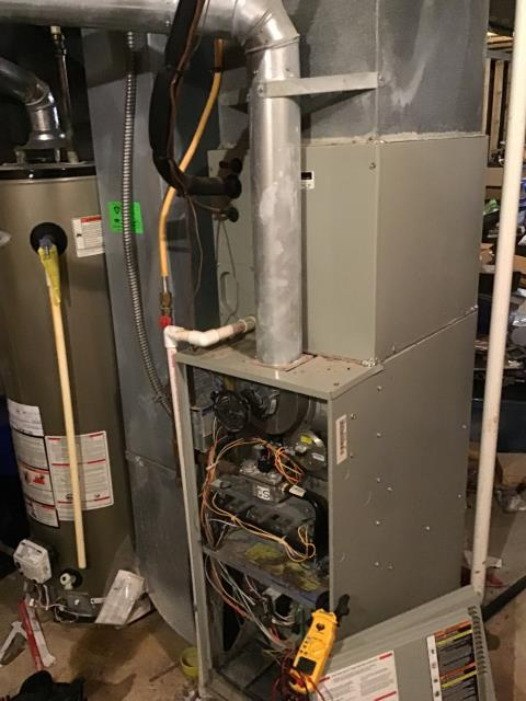 Galloway, OH - Upon inspection, I found the pressure switch was faulty. I informed the customer and went over their options. Customer has opted to replace pressure switch at this time. Will come back out to install when part is acquired. System is not operational upon departure.