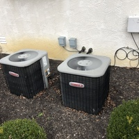 New Albany, OH - Discussed furnace issue with customer.. Found furnace overheating and cycling on upper limit due to dirty filter and style of filter. Advised to use washable filters that customer has on-site. Cycled furnace to verify correct factory spec'd temp rise. Getting 122 degree supply temp.