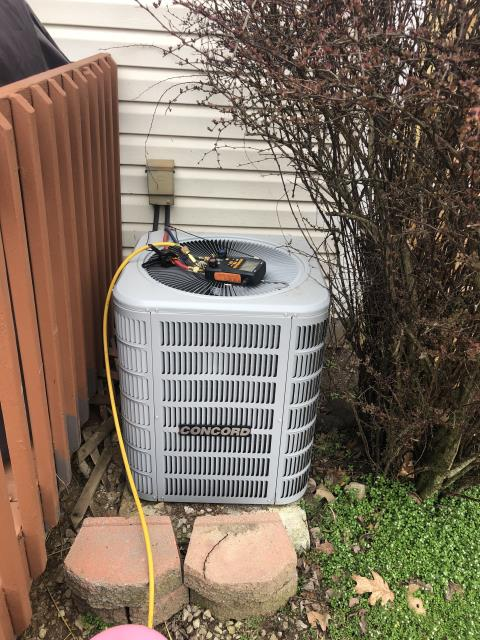 Canal Winchester, OH - I completed a diagnostic service call. Customer stated ac is barely blowing and wants to check if duct system is leaking. Found system on low charge, added 1 pound of 410. At this time all equipment fully functional.