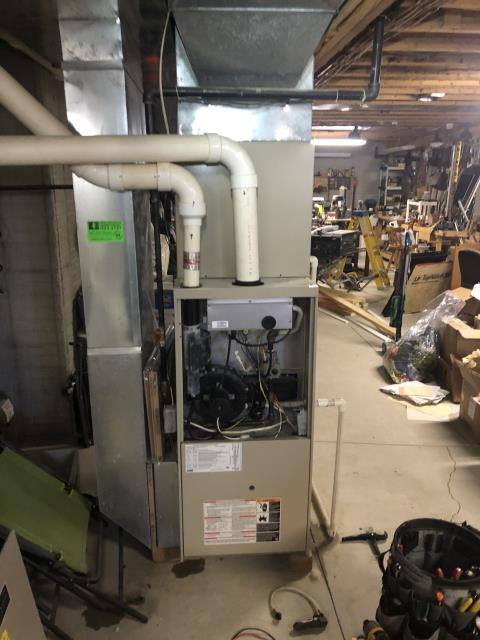 Canal Winchester, OH - I performed a diagnostic on a Lennox gas furnace.  I found that the condensate drain line was clogged.  I cleared it with compressed air and system was fully operational upon my departure.