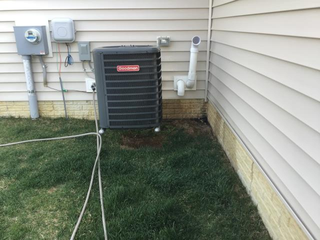 Grove City, OH - I completed a diagnostic service call for a hot upper bedroom. Found outdoor coil dirty, cleaned. Recommended leaving fan in the on mode, confirmed all dampers open, good airflow to the room.