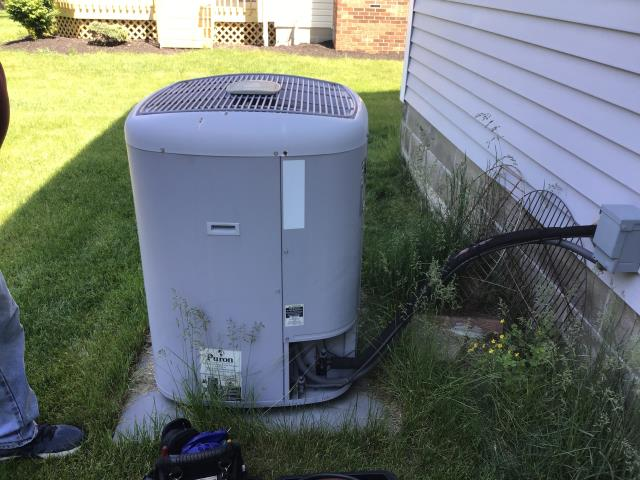 Hilliard, OH - I completed a diagnostic service call on a Carrier air conditioner. Determined that the condenser needed to be cleaned and that there was a leak. I cleaned condenser, refilled refrigerant and sealed per customer's request.
