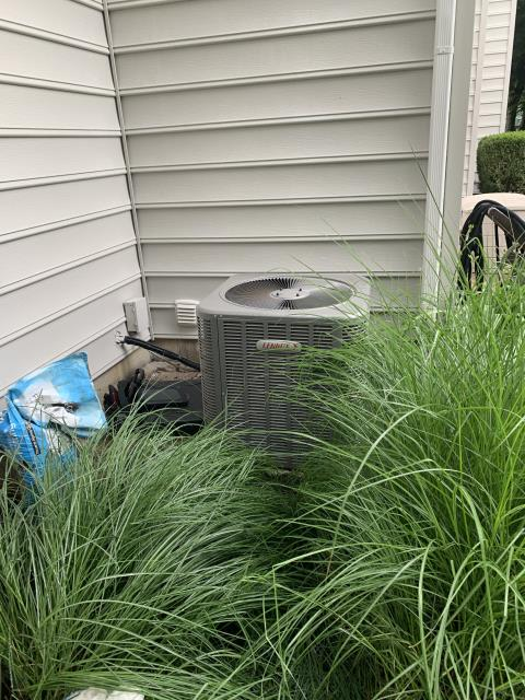 Westerville, OH - I completed a diagnostic service call on a Lennox air conditioner. I determined that the unit was low on refrigerant and had a leak. I went over options with the customer. Customer opted to have leak sealed and the unit recharged, upon doing so I tested, and the unit is operating properly upon departure.