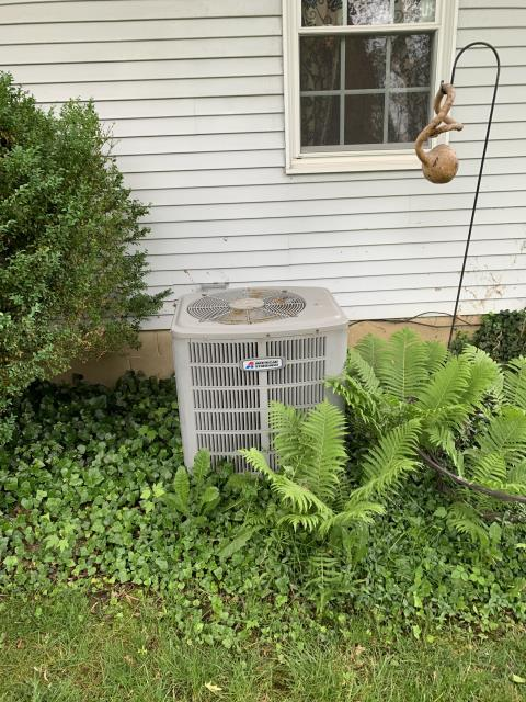 Pickerington, OH - I completed a return service on an American Standard heat pump. Customer opted to replace the units given the price of repairs. Installation scheduled for later in the week.
